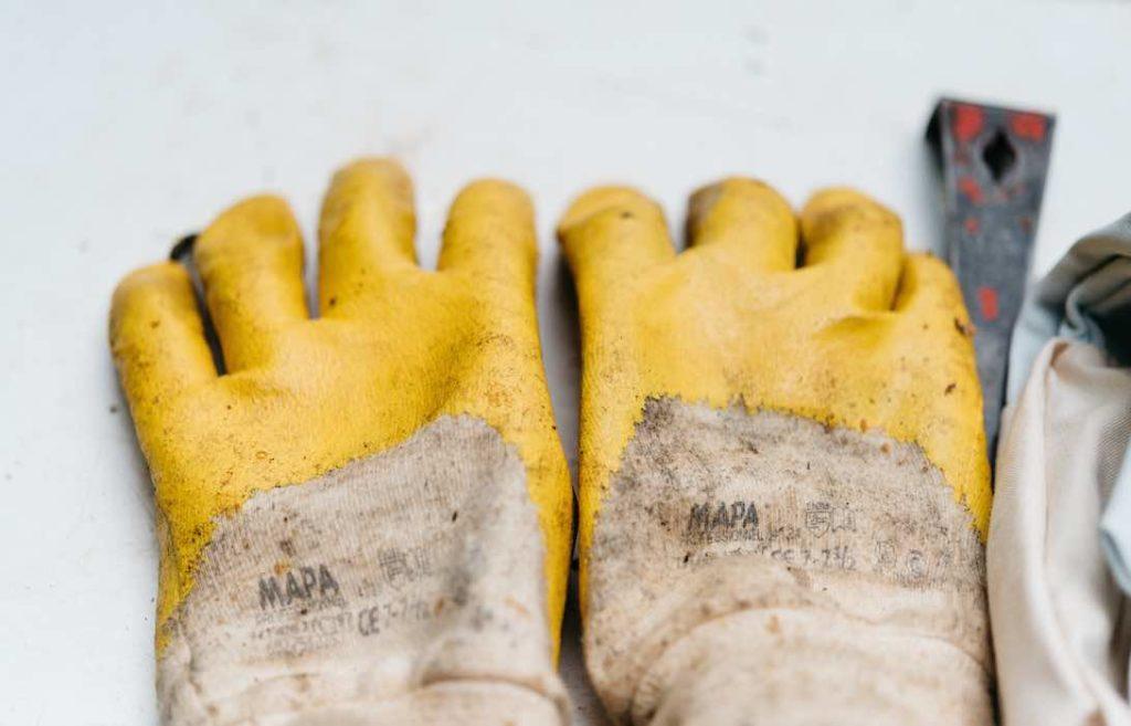 5 étapes gants usés epi équipement de protection individuelle technoquip tunisie