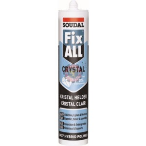 FIX ALL CRYSTAL colle mastic