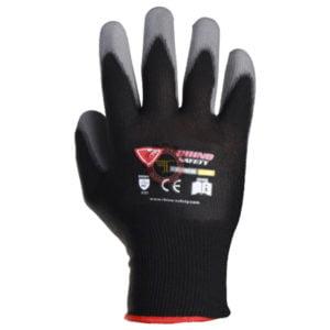 gant polyamide pu sécurité équipement protection individuel tunisie PU polyuréthane manipulation fine tunisie