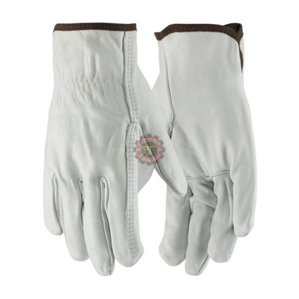 Gant cuir souple de travail sécurité manutention équipement de protection individuelle tunisie technoquip