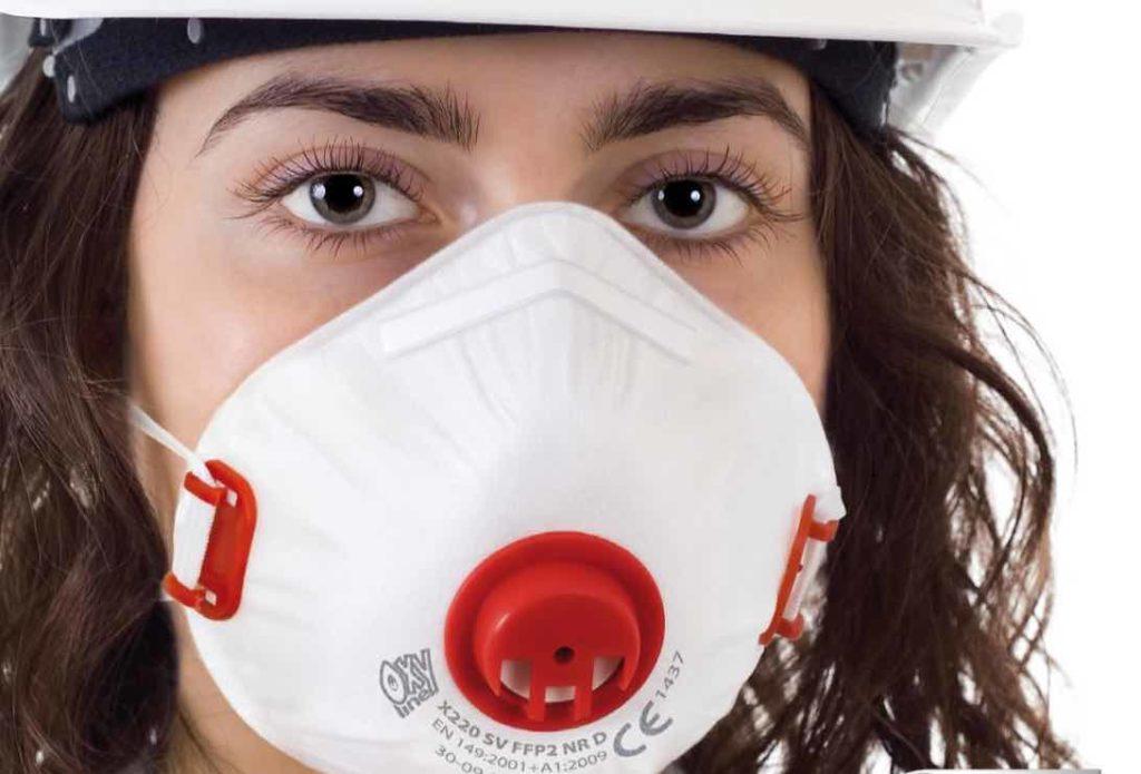 Masque respiratoire ant poussière oxyline tunisie EPI equipement de protection individuelle technoquip