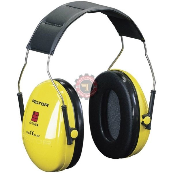 Casque anti-bruit OPTIME 1 Peltor 3M tunisie technoquip distribution protection auditive EPI