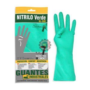 Gant Nitrile Vert Industriel tunisie EPI équipement protection individuel chimique