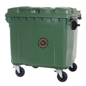 conteneur poubelle 770 l Gris vert environnement tunisie Technoquip hygiène industrielle