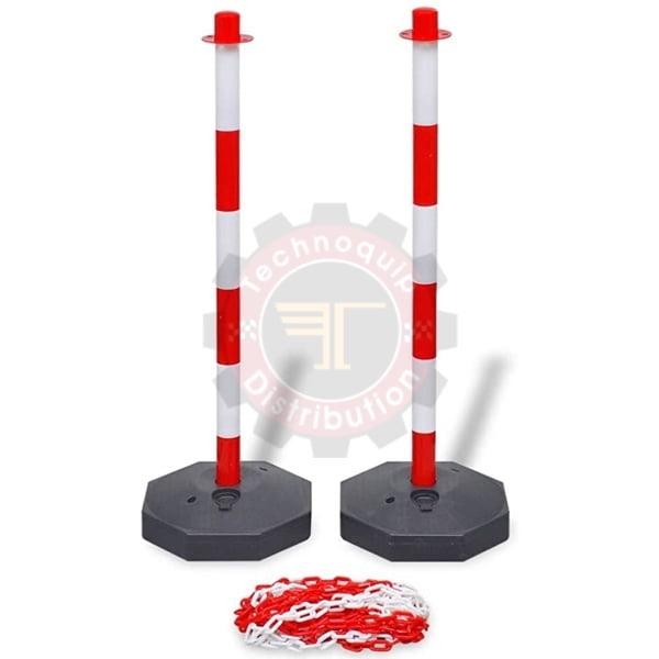 Base plus colonne poteau signalétique tunisie séparation barrière