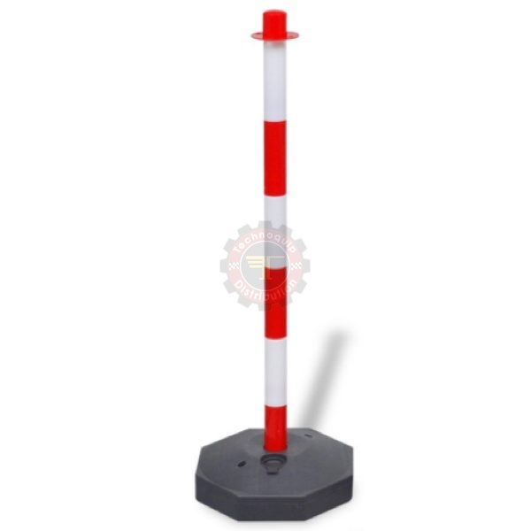 Poteau signalétique ruban de signalisation Geko signalétique chantier tunisie avertisseur grillage sécurité au travail technoquip haute visibilité balisage