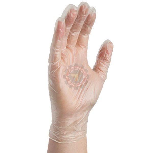 Gant d'examen Vinyle tunisie Nitril latex jetable usage unique clinique chirurgie stérile autoclave salle blanche alimentaire pharmaceutique