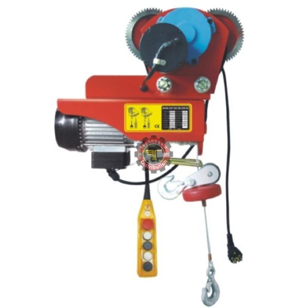Mini palan électrique à cable sur chariot Aiment de levage Palan à chaîne électrique mobil à chariot électrique Manutention et levage Tunisie technoquip distribution manuel industrie