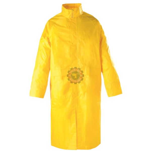 Manteau de pluie jaune mperméable pluie ensemble sécurité EPI équipement de protection individuelle tunisie technoquip distribution