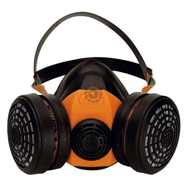 Demi masque respiratoire bi-filtres 756A climax tunisie EPI sécurité protection individuel technoquip respiratoire gaz filtre