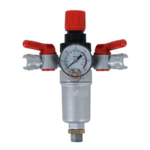 Mano régulateur compresseur à 2 robinets