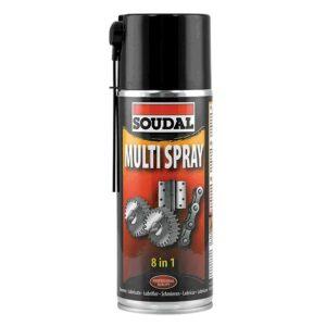 Multispray 8 en 1 dégrippant
