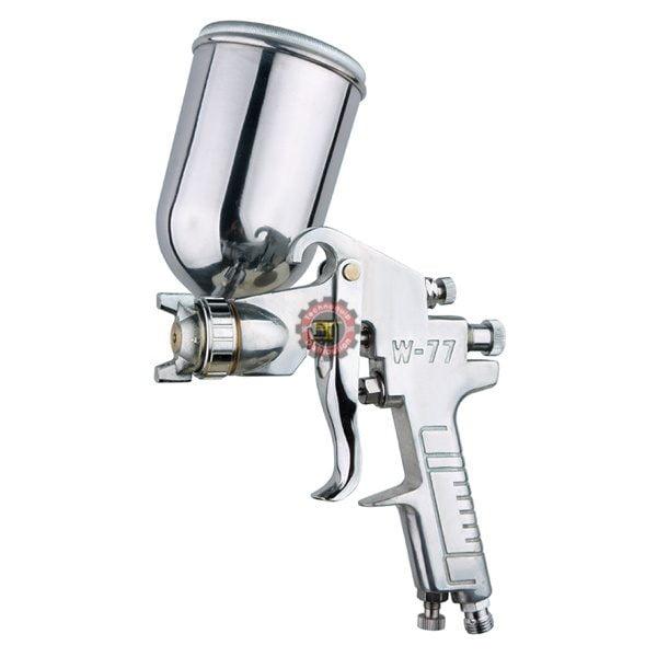 Pistolet de peinture W-77G à godet renversé WUFU tunisie outils pneumatique graisse pompe pistolet de peinture soufflette d'air technoquip