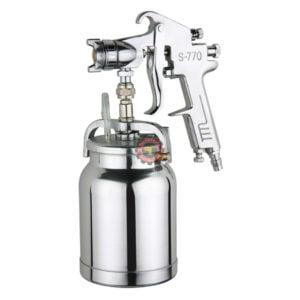 Pistolet de peinture WUFU S-770S tunisie outils pneumatique graisse pompe pistolet de peinture soufflette d'air technoquip