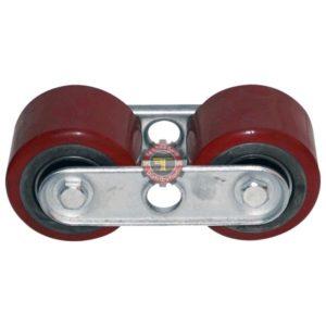 Boggie double roues pour transpalette