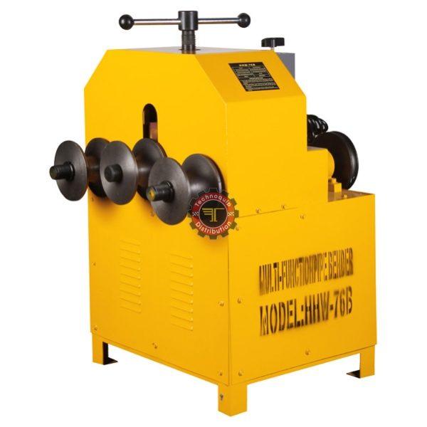 Cintreuse électrique à galets pour tubes ronds et carrés HHW76 acier inox tunisie technoquip distribution