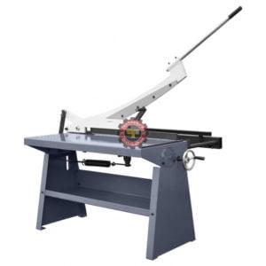 Cisaille guillotine à levier et contre poids GS1000 tunisie technoquip distribution