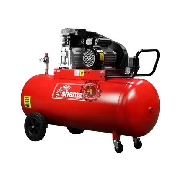 Compresseur à piston 200l Shamal tunisie pneumatique traitement de l'air à vis air comprimé technoquip distribution triphasé