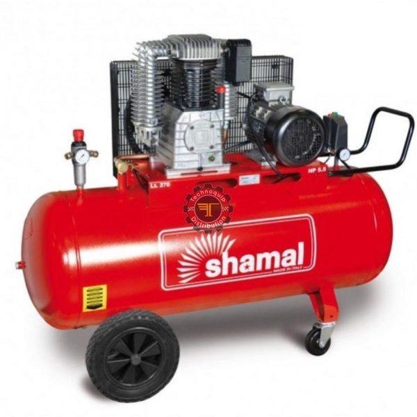 Compresseur à piston 270l Shamal triphasé tunisie pneumatique traitement de l'air à vis air comprimé technoquip distribution triphasé