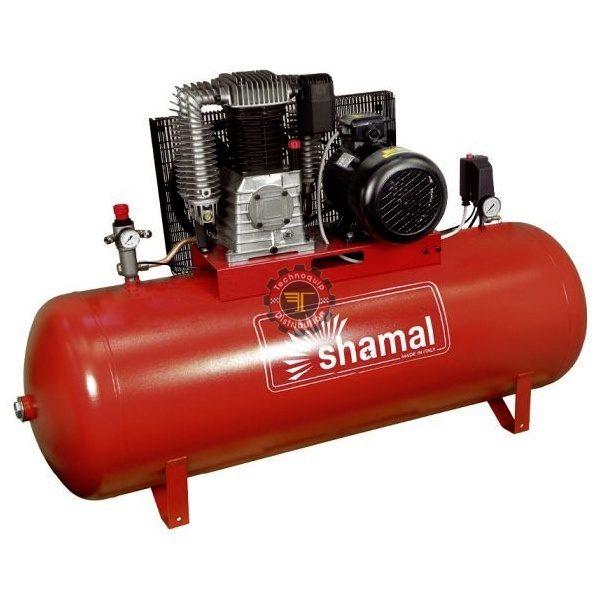 Compresseur à piston 500l Shamal Triphasé tunisie pneumatique traitement de l'air à vis air comprimé technoquip distribution triphasé