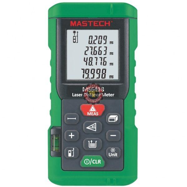 Mètre-Laser MS6418 Mastech test mesure instrument surface volume distance tunisie technoquip distribution