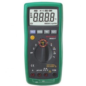 Multimètre MS8217 Mastech testeur courant Tunisie technoquip distribution phase réseau ohm volt ampère
