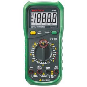 Multimètre MY65 Mastech testeur courant Tunisie technoquip distribution phase réseau ohm volt ampère