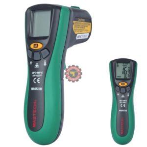 Thermomètre infrarouge MS6522B Mastech testeur courant Tunisie technoquip distribution phase réseau ohm volt ampère température c° F° chaleur