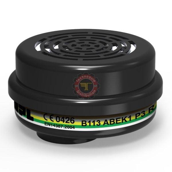 Filtre à gaz ABEK1P3R B113 MPL protection respiratoire EPI Équipement de protection individuelle tunisie technoquip distribution