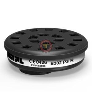 Filtre à particules P3 R B302 MPL protection respiratoire EPI Équipement de protection individuelle tunisie technoquip distribution