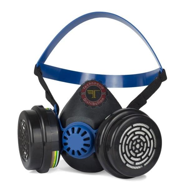 Masque Bi-Filtres 2000T protection respiratoire EPI Équipement de protection individuelle tunisie technoquip distribution