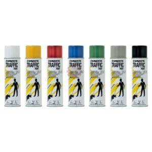Bombe de peinture Trafic Paint pour striper 1 ampère système tunisie traçage au sol marquage parking peinture au sol technoquip distribution