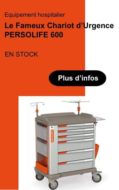Persolife 600 France Hôpital tunisie équipement médical et para hospitalier urgence réanimation clinique équipement technoquip distribution rea