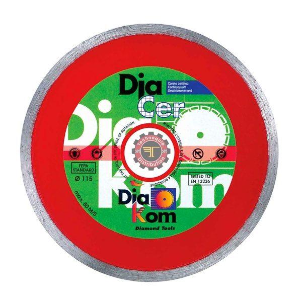 Disque diacer profy 250*22 DIAKOM tunisie outil de coupe abrasif métal granite inox technoquip distribution