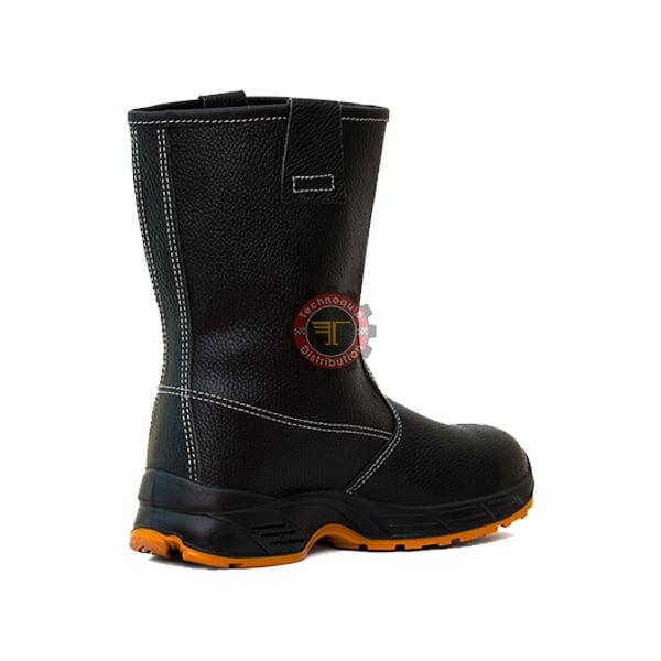 Chaussures antidérapantes Modèle: 182 Noir 3 tunisie