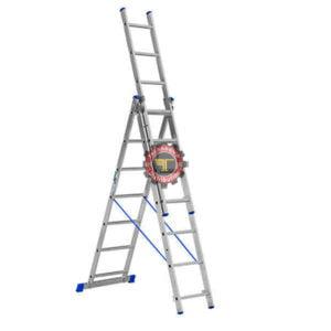Echelle triple 3*12 marches 9.3m tunisie échelle manutention travail en hauteur technoquip