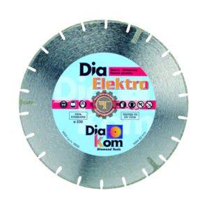 Disque diamant marbre 230 DIAKOM tunisie outil de coupe abrasif métal granite inox technoquip distribution