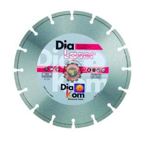 Disque diamant laser universel DIAKOM tunisie outil de coupe abrasif métal granite inox technoquip distribution