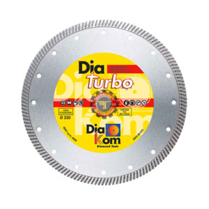 Disque diamant turbo universel DIAKOM tunisie outil de coupe abrasif métal granite inox technoquip distribution