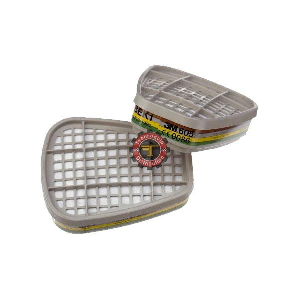 Paire de filtres anti gaz et vapeurs ABEK1 6059 tunisie