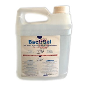 Bactigel anti bacterial handgel 5L tunisie