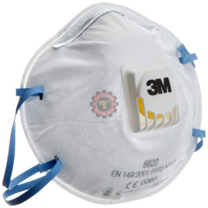 Masques respiratoires FFP2 8822 3M protection respiratoire technoquip distribution 3M tunisie corona covid-19