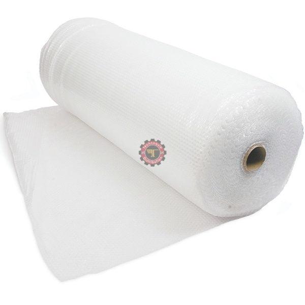 Rouleau de papier bulles 1m * 100m Dévidoir adhésif cornière d'emballage en carton emballage tunisie film étirable feuillard carton technoquip distribution