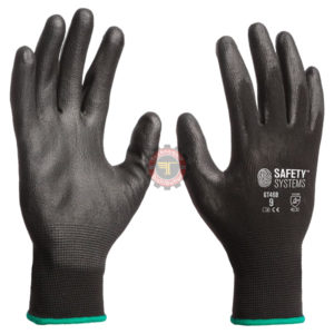 Gants en maille polyamide sans coutures avec enduction en polyuréthane tunisie