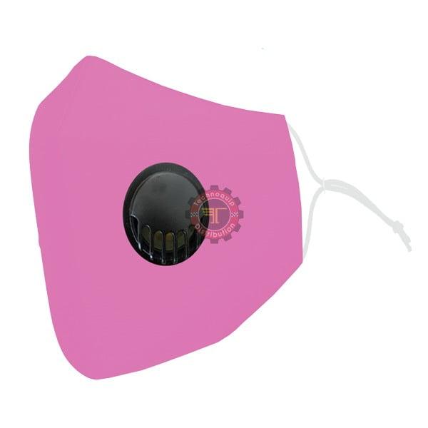 Masque lavable réutilisable avec valve d'expiration tunisie