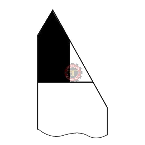 Outil à fileter extérieur 60° à droite ISO12 DIN282 tunisie