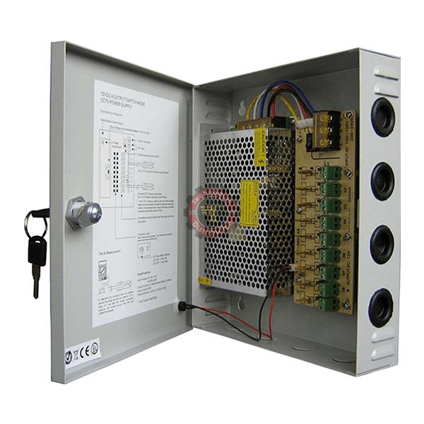 Coffret d'alimentation 12V-10A IT72034 tunisie