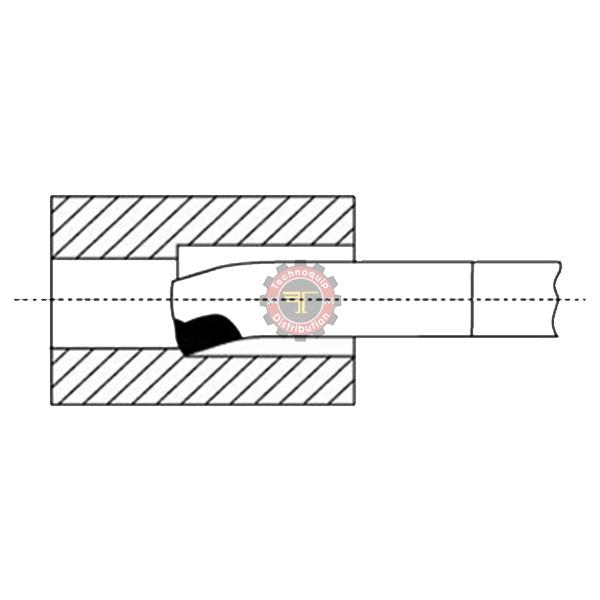 Outils de tour à aléser et à dresser ISO9 DIN4974 tunisie