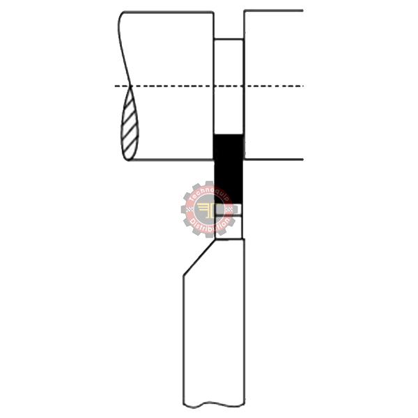 Outils de tour à tronçonner ISO7 DIN4981 tunisie