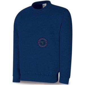 Sweat-shirt bleu 1288-JSA tunisie